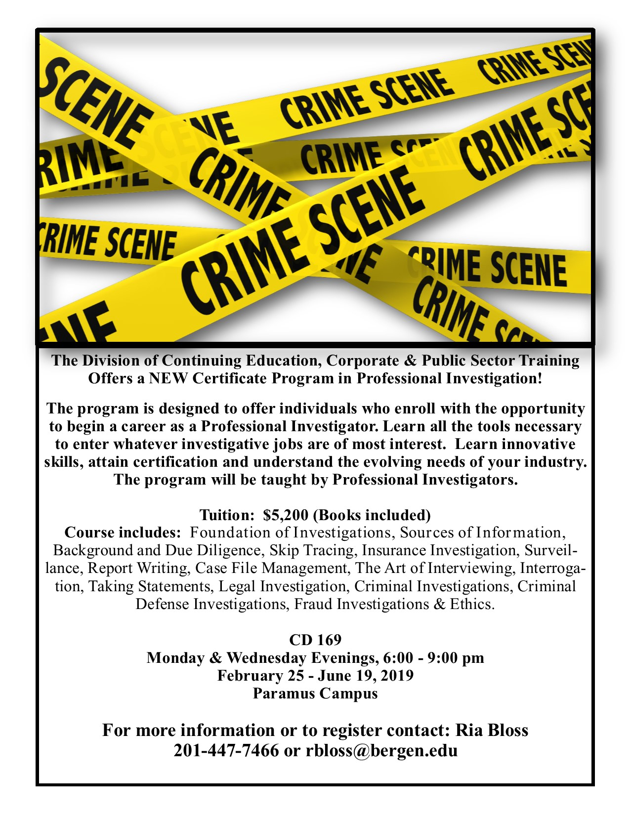 Certificate in Professional Investigation